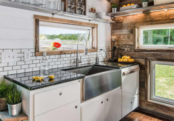 Alpha House rustic country kitchen
