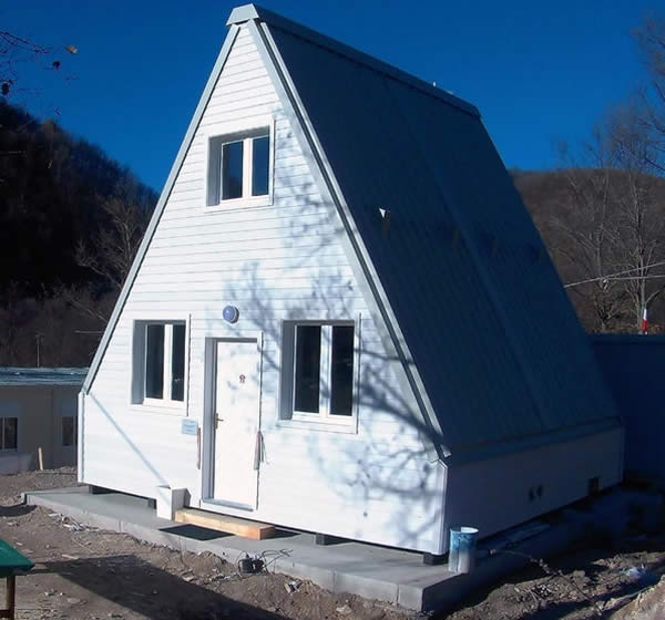 M.A.Di Tiny House White