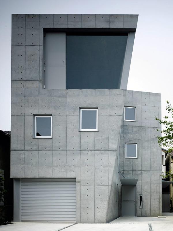 House in Wakabadai, Satoshi Okada