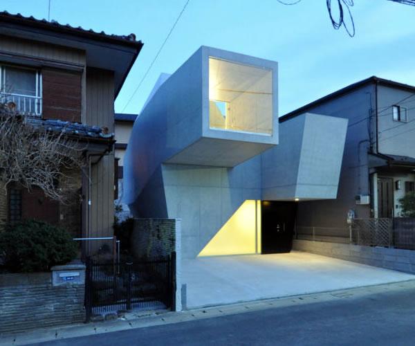 House in Abiko by Fuse Atelier.