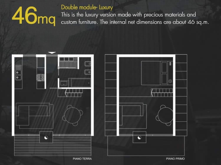 Tiny House Plans 46sqm - M.A.Di