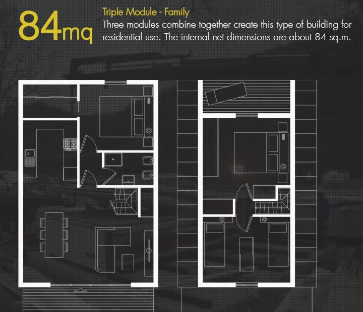 Tiny House Plans 84sqm - M.A.Di