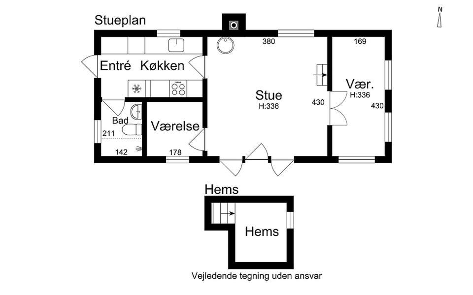 Danish Summerhouse Floor Plan