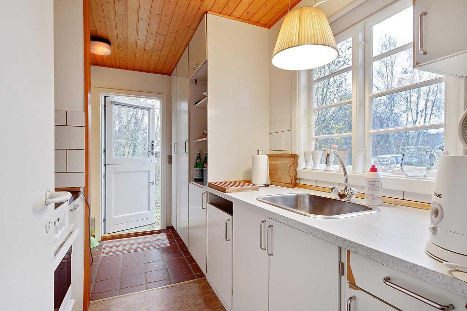 Danish Summerhouse Kitchen