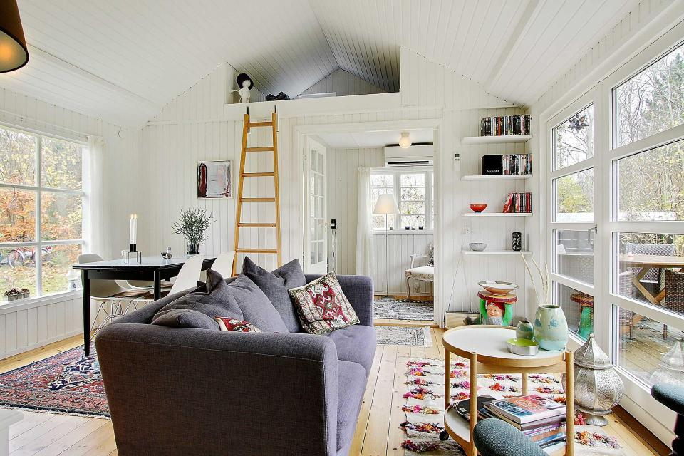 Danish Summerhouse Livingroom 2
