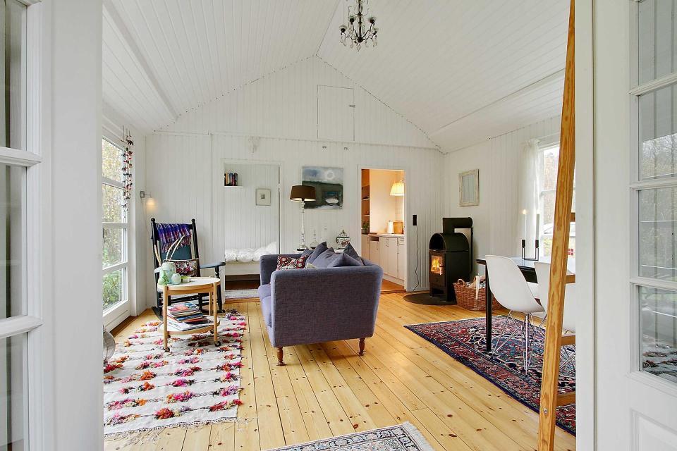 Danish Summerhouse Living room