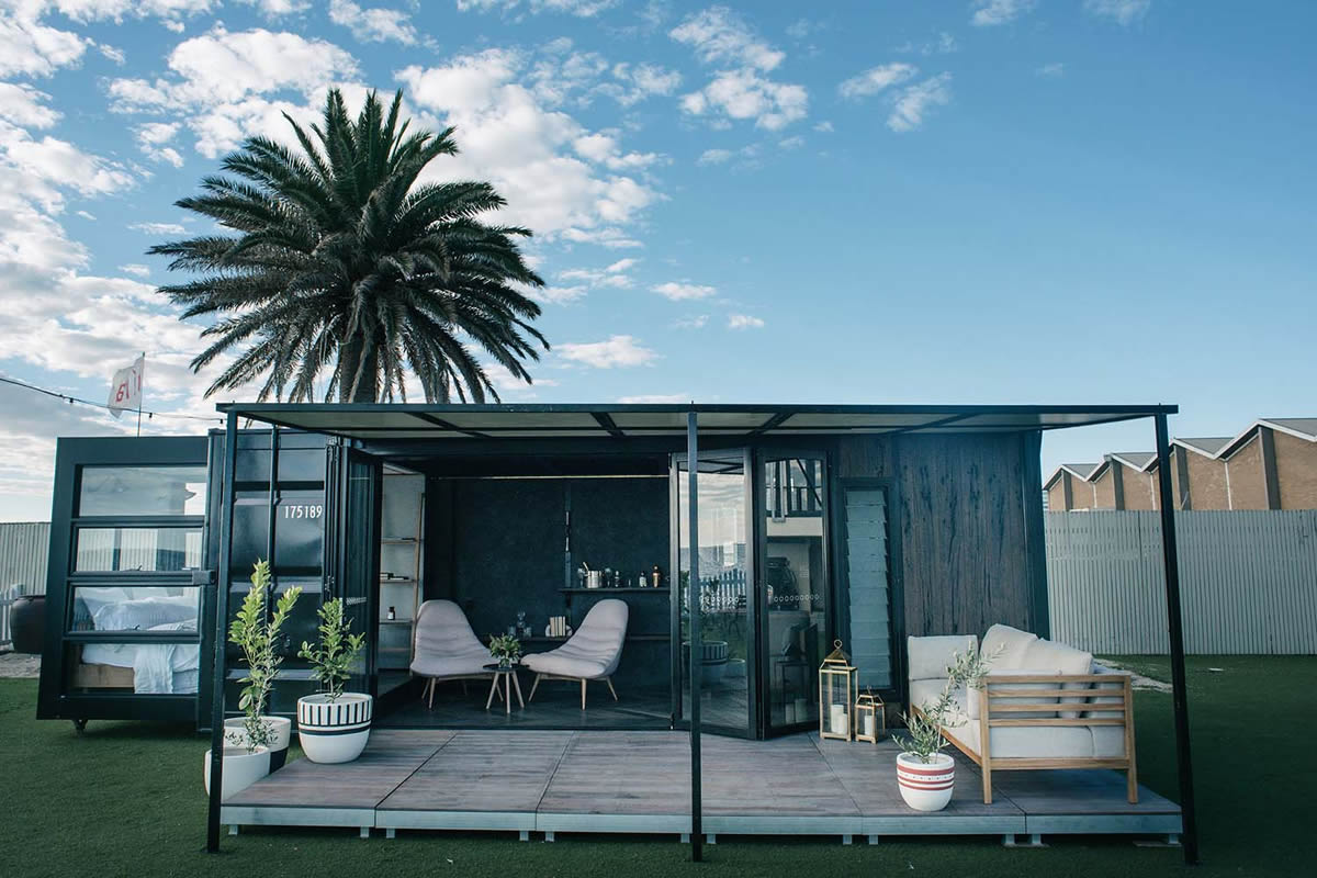 Shipping Container Home By Contained