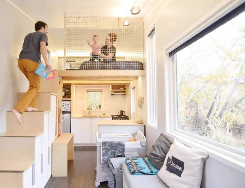 Tiny Homes Floor Plans For Families